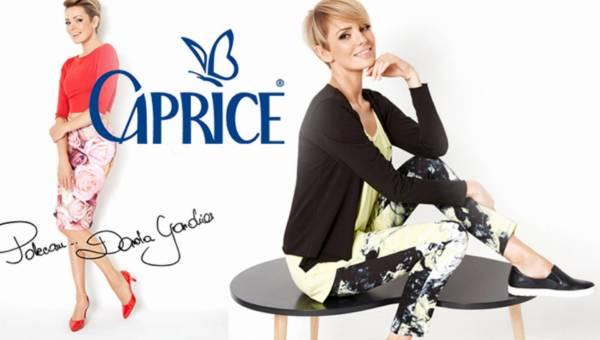 Dorota Gardias w kampanii Caprice wiosna lato 2016