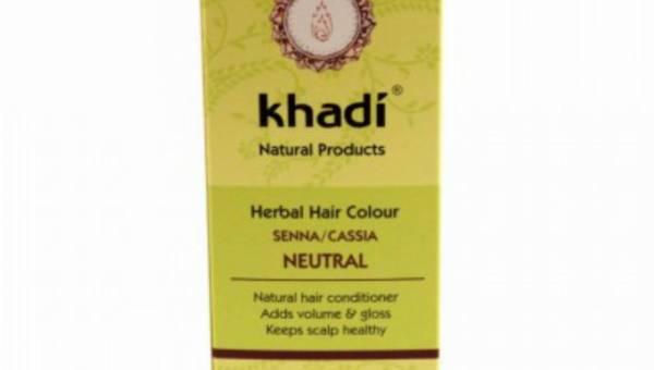 KHADI, Cassia obovata – bezbarwna henna