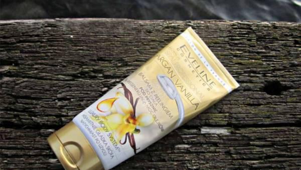 Eveline Cosmetics, Balsam z peelingiem 2w1 do ciała pod prysznic ARGAN&VANILLA