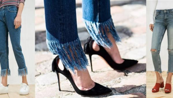Jeansy z frędzlami i postrzępieniami – kolejny hit na lato 2016