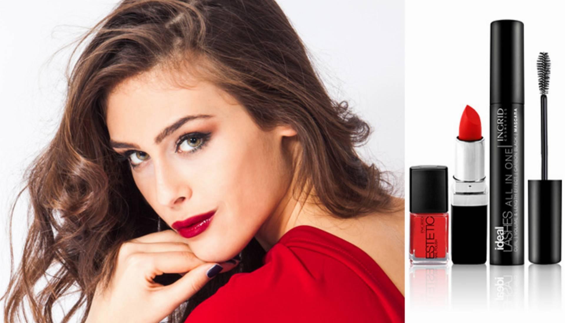 makijaż na walentynki 2016 ingrid cosmetics