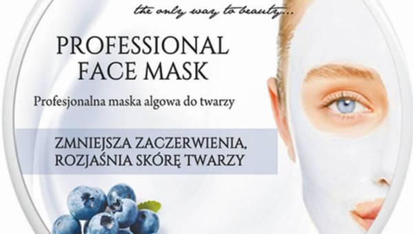 Nacomi – Profesjonalna Maska Algowa Rozjaśniająca do Cery Naczynkowej