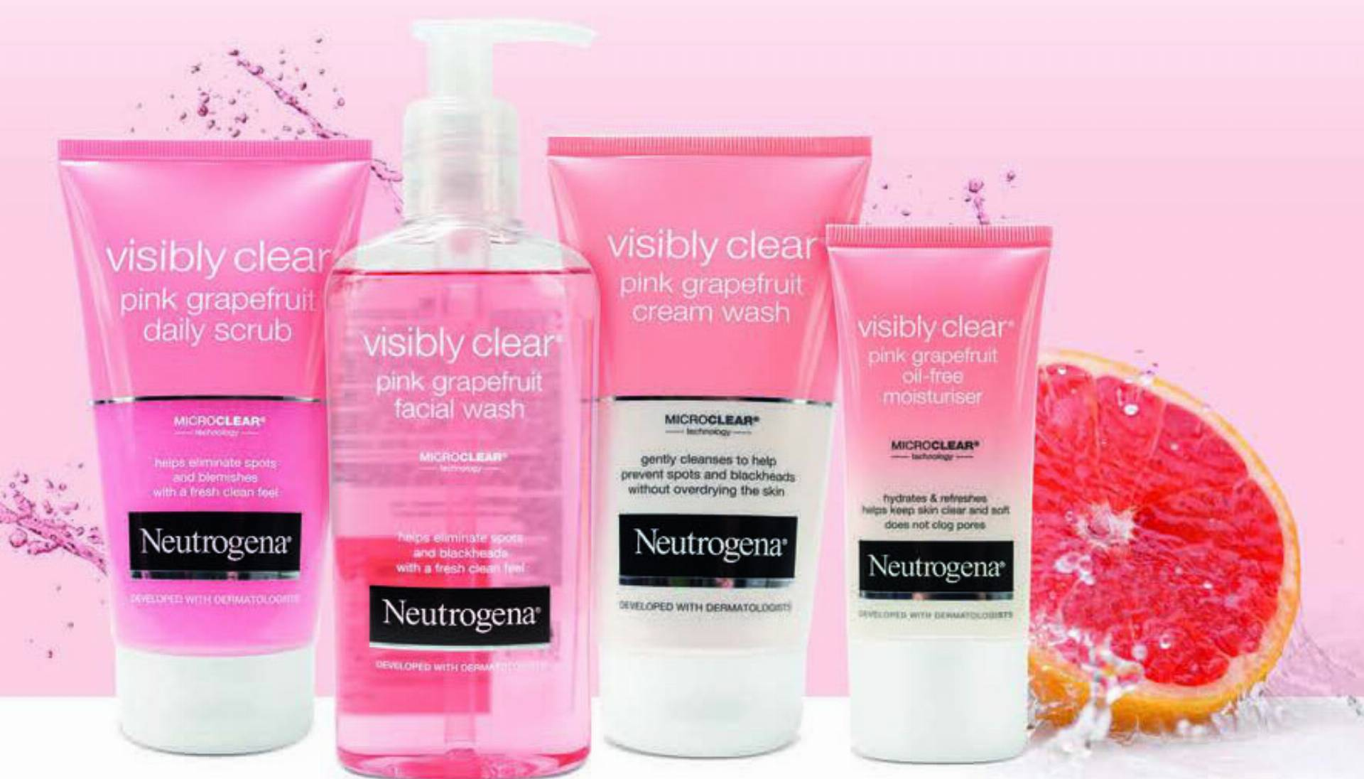 Neutrogena Visibly Clear Pink Grapefruit