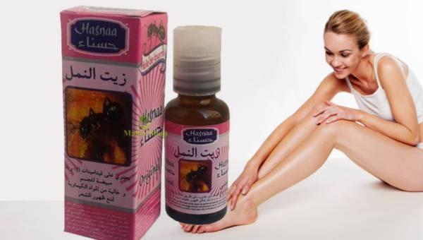 Olejek mrówkowy – zapobiega odrastaniu włosów po depialcji