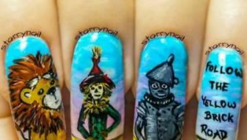 7 niesamowitych wzorków na paznokcie inspirowanych…. filmami, które zdobyły Oskara