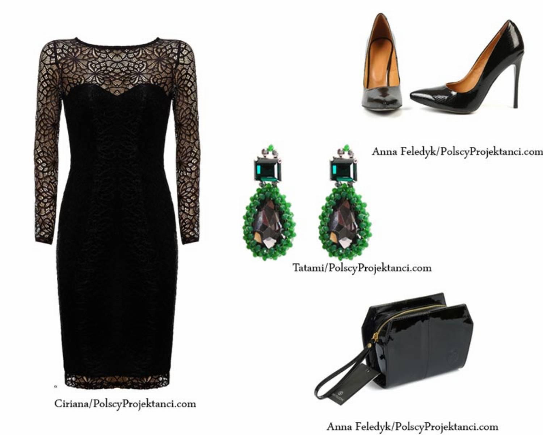 PolscyProjektanci.com_stylizacja_mala_czarna_sukienki na Walentynki