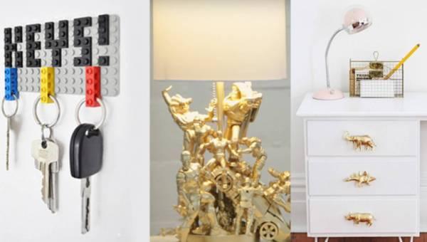 DIY: Pomysły na wykorzystanie starych zabawek w… dekorowaniu wnętrz!