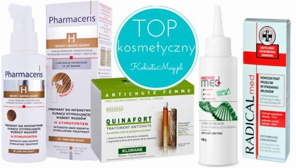 Kosmetyczny TOP: Kosmetyki przeciw wypadaniu włosów
