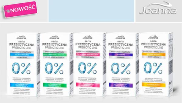 Seria Prebiotyczna Laboratorium Kosmetycznego Joanna
