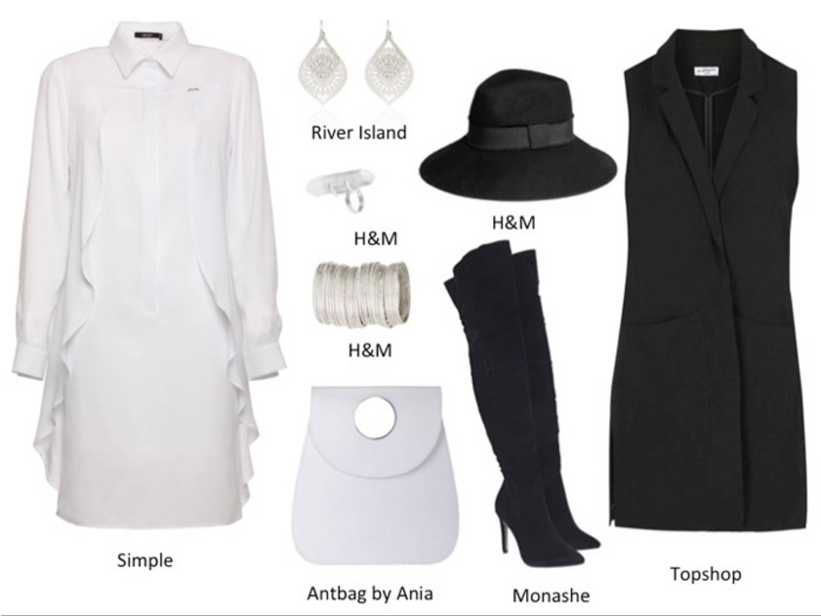 stylizacje Black&White (2)