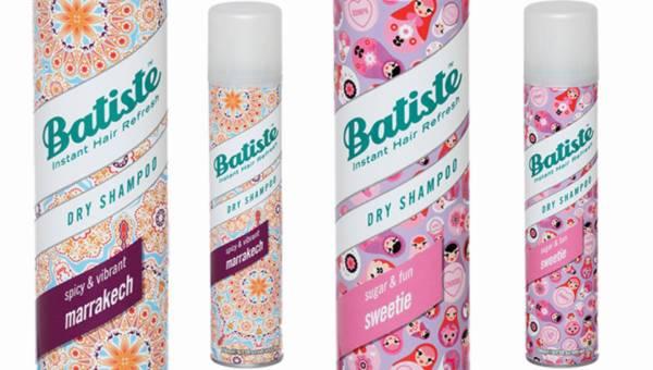 Suche szampony Batiste w zmysłowych zapachach