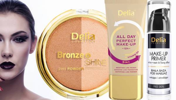 Makijażowe nowości od Delia Cosmetics