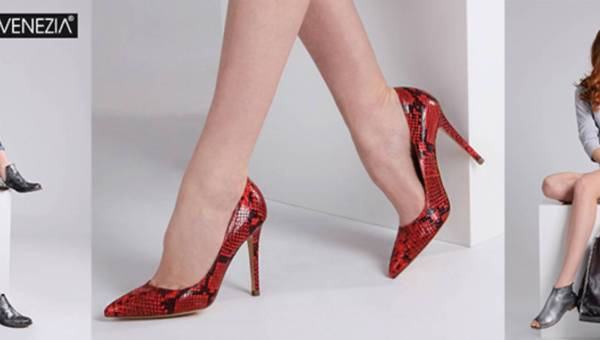 Nowa kolekcja butów Venezia wiosna lato 2016
