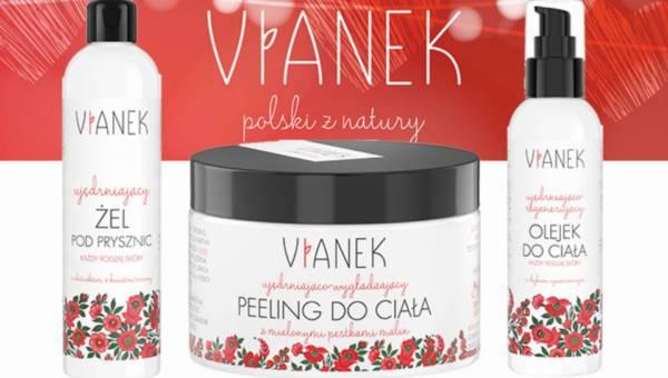 Kosmetyki polskiej marki Vianek na walentynkowy wieczór