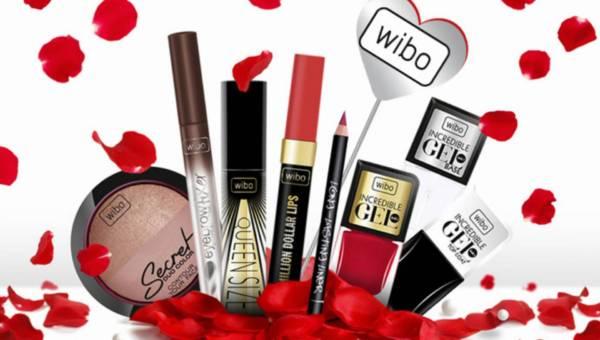 Kolorowe kosmetyki Wibo na walentynki 2016