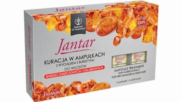 Ampułki Jantar – kuracja dla włosów zniszczonych