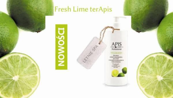 Nowość APIS, Fresh Lime terApis – żelowa maska limonkowa do stóp z kwasem glikolowym i mocznikiem