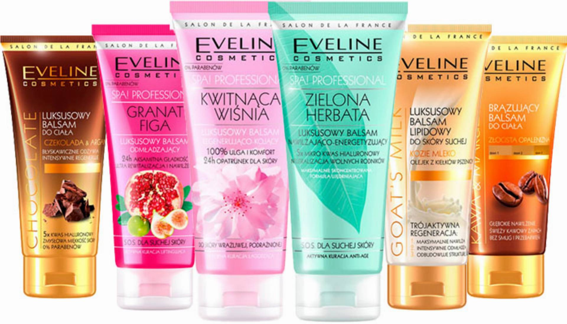 balsamy eveline cosmetics
