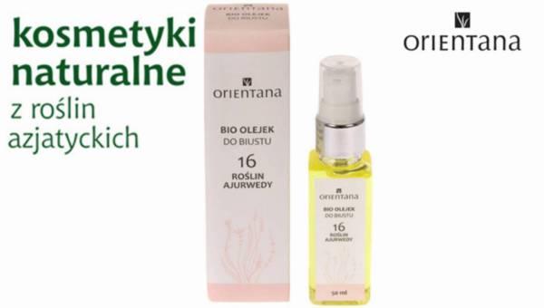 NOWOŚĆ! Bio-olejek do biustu 16 roślin Ajurwedy marki Orientana