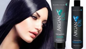 Szampon i maska do włosów Bioelixire Volumizing