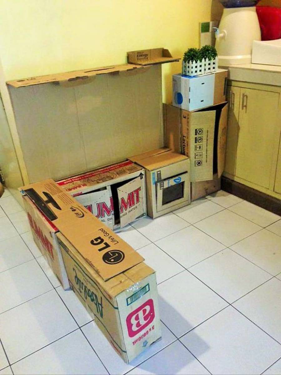 Inspiracjie DIY Zabawkowa kuchnia dla dziecka  KobietaMag pl -> Kuchnia Dla Dzieci Najtaniej