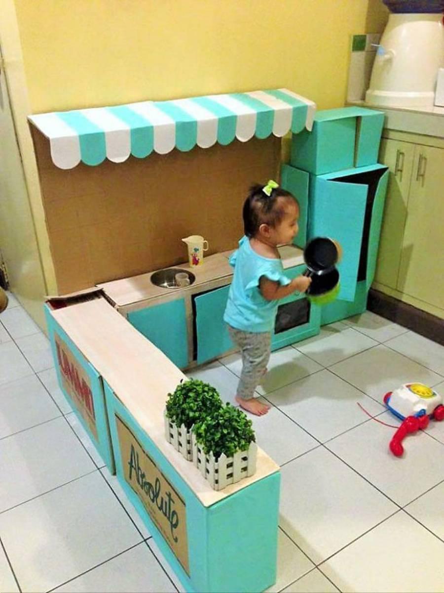 Inspiracjie Diy Zabawkowa Kuchnia Dla Dziecka Kobietamagpl