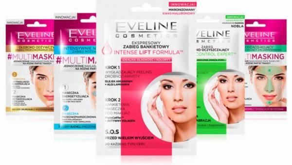 Dwuetapowe maseczki Eveline Cosmetics
