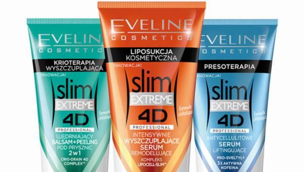 Ujędrniające nowości z serii Eveline Cosmetics SLIM EXTREME 4D