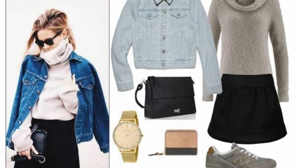 4 pomysły, jak nosić kurtkę jeansową