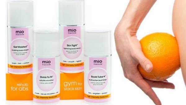 Kosmetyki modelujące Mio dla kobiet aktywnych