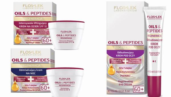 Kosmetyki peptydowe od Floslek – Oils & Peptides