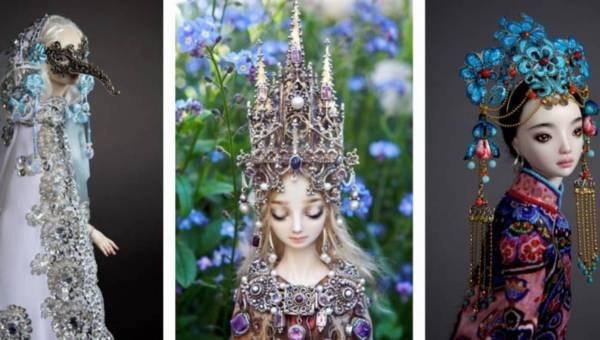 Zaczarowane ręcznie robione porcelanowe lalki dla dorosłych – Enchanted Doll