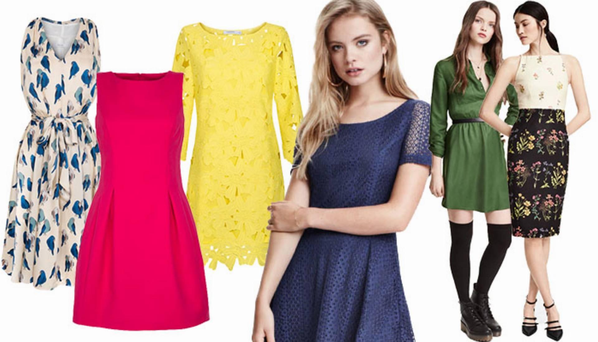 0aa3b87cbe Shoppingowy przegląd  Modne sukienki wiosna 2016 - KobietaMag.pl