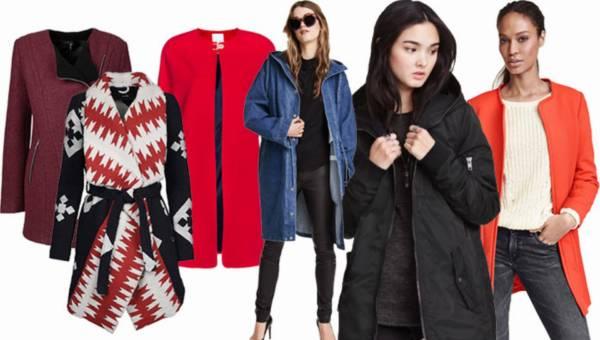 Shoppingowy przegląd: Najmodniejsze płaszcze i kurtki wiosna 2016