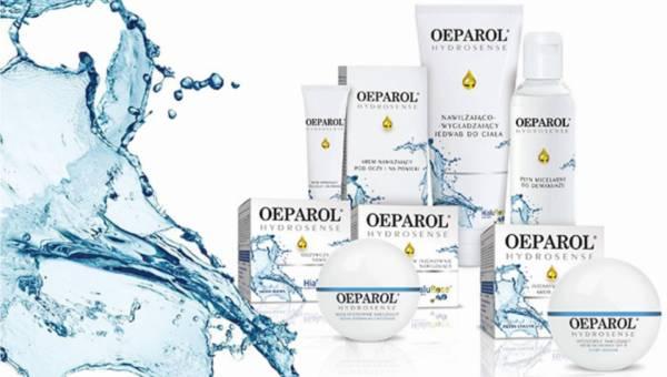 Nowa nawilżające linia kosmetyków Oeparol Hydrosense