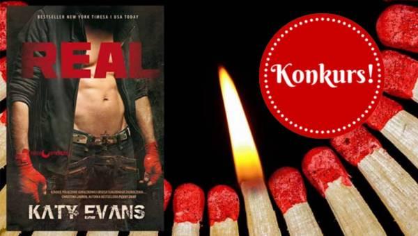 "KONKURS: Namiętna powieść na wiosnę – ""REAL"" Katy Evans"