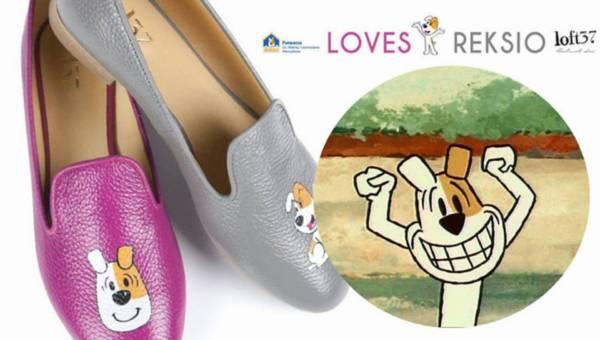 Kolekcja butów i torebek z Reksiem!