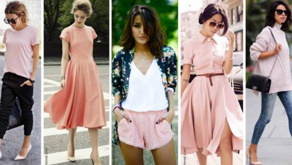 Modowe inspiracje: stylizacje w kolorze Rose Quartz