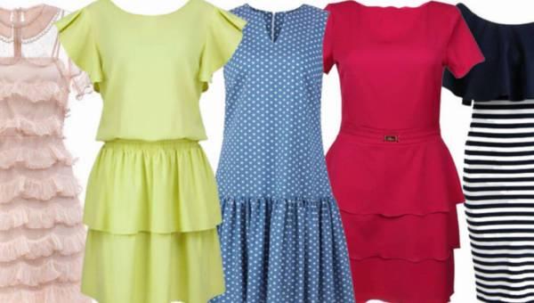 Spódnice i sukienki z falbanami na lato 2016 – przegląd modeli