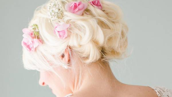 Fryzury ślubne dla krótkich włosów