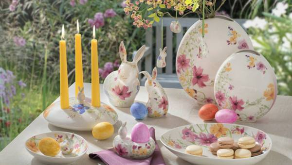 Wielkanocne dekoracje stołu z kolekcji Villeroy & Boch