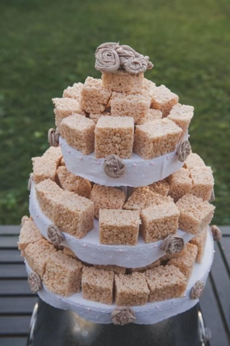 Haystack Wedding Cake