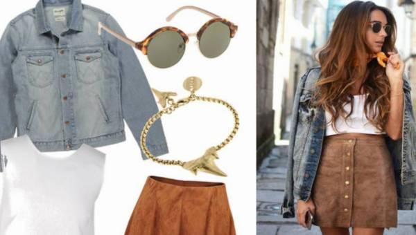 Jeansowa kurtka – modne stylizacje na wiosnę 2016