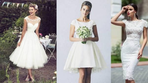 Ślubne inspiracje: Krótka suknia ślubna