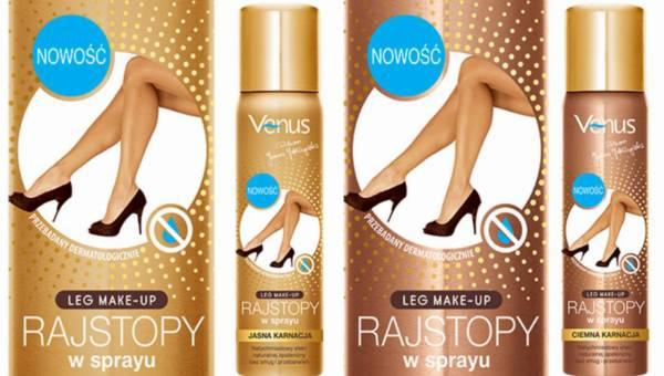 Rajstopy w sprayu Leg Make-Up od Venus