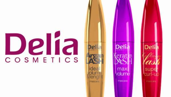 Nowe maskary Delia Cosmetics