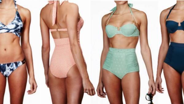 Modne stroje kąpielowe 2016: gotowe stylizacje