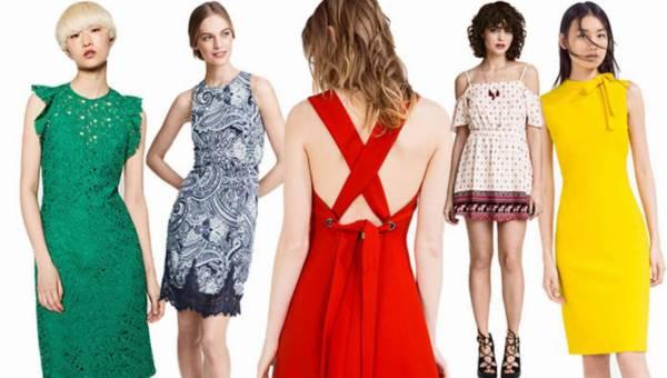 Przegląd z sieciówek: Modne Zara, H&M i Mohito sukienki – wiosna lato 2016