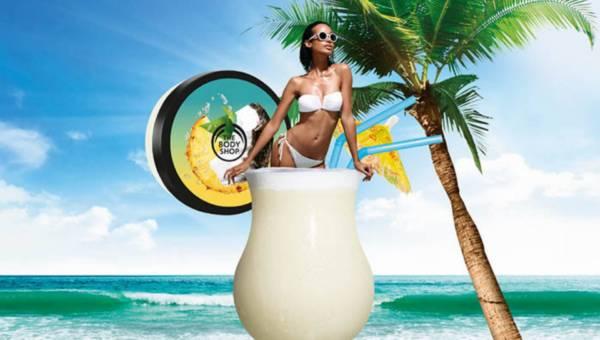 Egzotyczna kolekcja kosmetyków Pinita Colada od The Body Shop