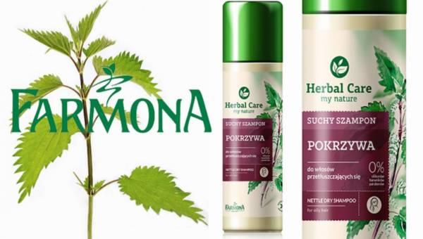 NOWOŚĆ: Suchy szampon Herbal Care od Farmony